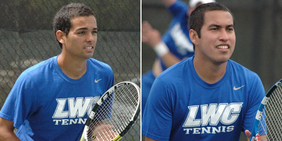 Fernando Bogajo (left) and Fabricio Morales earn NAIA All-American honors